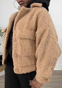 Tia Teddy Sherpa Coat