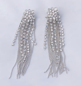 Diamant Tassel Earrings