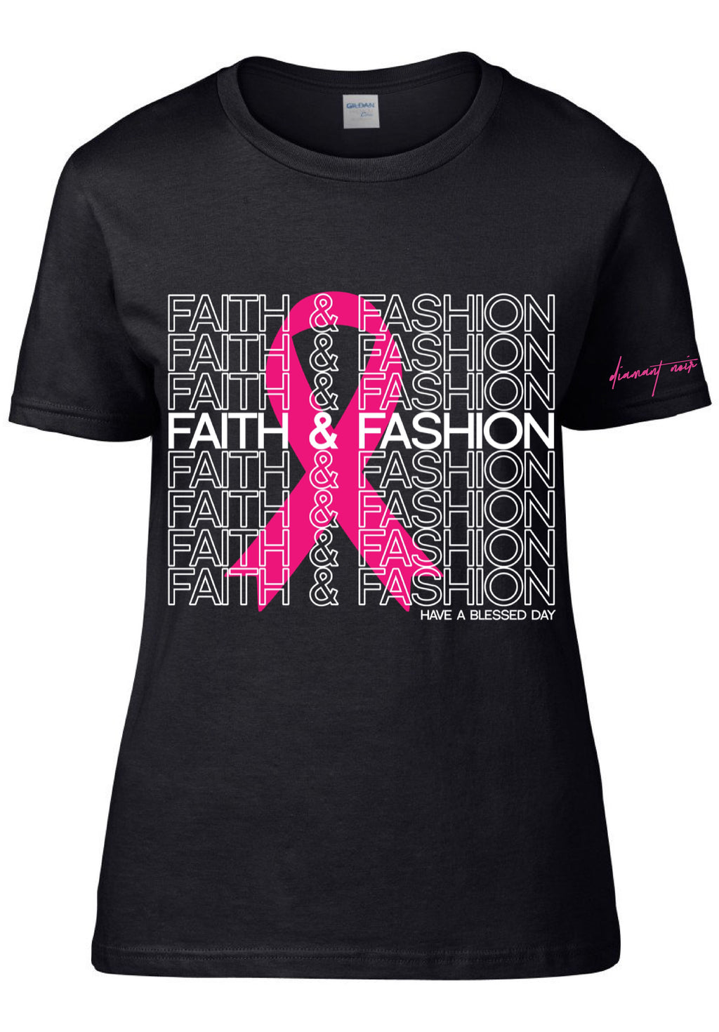 **LIMITED EDITION Faith & Fashion / Breast Cancer T-Shirt
