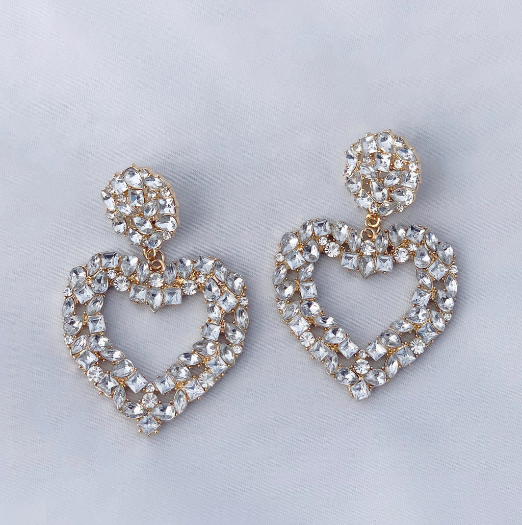 Heart Diamant Earrings
