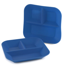 Flexible Divided Plate Set - 2 pack