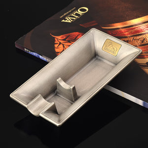 LUBINSKI Creative Design Metal Cigar Ashtray - Richard Cutters - Cigar Accessories