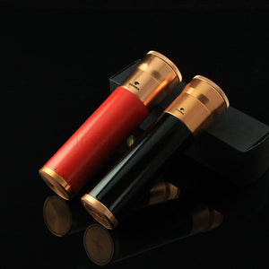 COHIBA Metal Portable 3 Tubes Mini Travel Cigar Case Holder With Built-in Humidifier - Richard Cutters - Cigar Accessories