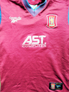 ASTON VILLA FOOTBALL SHIRTS - various years & sizes