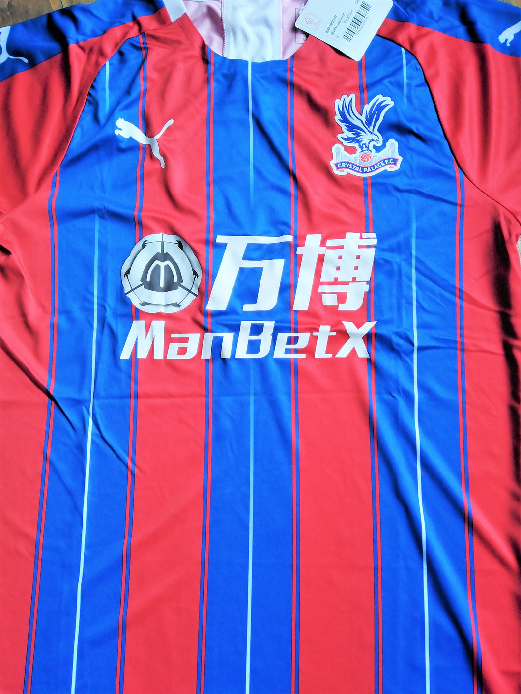 CRYSTAL PALACE Shirts - various years & sizes