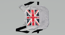 "Load image into Gallery viewer, UNION JACK Love Heart dog coat - Small 14"" waterproof - Personalised FREE"