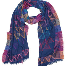 Load image into Gallery viewer, Geometric Woven Scarf