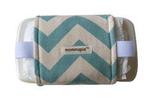 Wrap N Pack - Blue Chevron