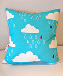 Cloud Cushion Cover with Zipper opening