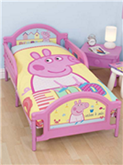 Peppa Pig Reversible Doona Junior bed set (fits toddler bed and cot)