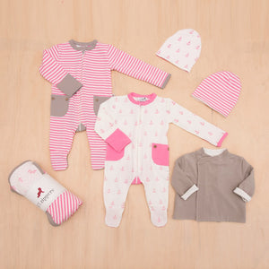 Pink Baby Gift Box Set - Size 000