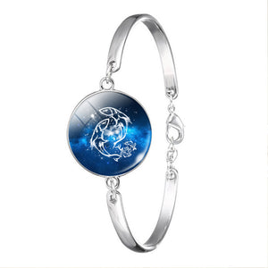 Pisces Zodiac Constellation Jewelry Bracelet Necklace