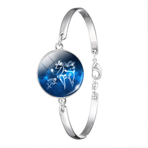 Zodiac Constellation Jewelry Bracelet Necklace Taurus