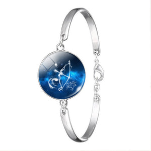 Zodiac Constellation Jewelry Bracelet Necklace Sagittarius