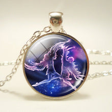 Zodiac Necklace w/ Nebula Pendant