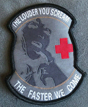 BuckUp Tactical Morale Patch Hook The Louder You Scream The Faster ACU Patches