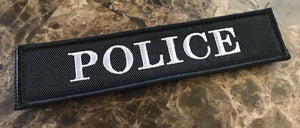 "BuckUp Tactical Morale Patch Hook Police 1.25x 5.5"" Patch"