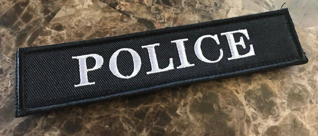 BuckUp Tactical Morale Patch Hook Police 1.25x 5.5