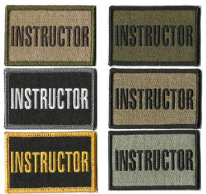 BuckUp Tactical Morale Patch Hook Instructor Patches 3x2""