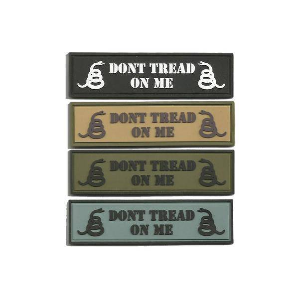 BuckUp Tactical Morale Patch Hook PVC DONT TREAD ON ME MORALE PATCH 1
