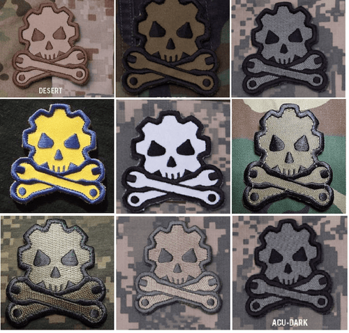 BuckUp Tactical Morale Patch Hook Death Mechanic Patches 2.5