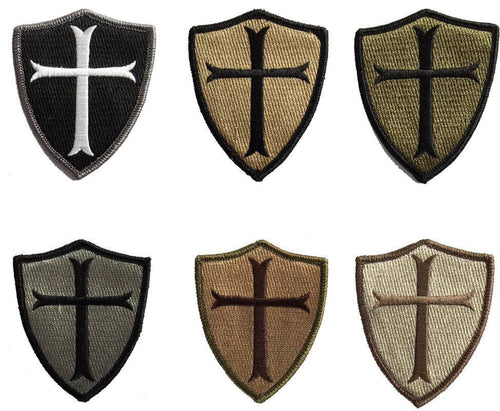 BuckUp Tactical Morale Patch Hook Crusader Sheild Patches 3