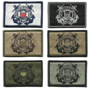 """BuckUp Tactical Morale Patch Hook Superman USA Tan Subdued Patches 2.75/"""""""