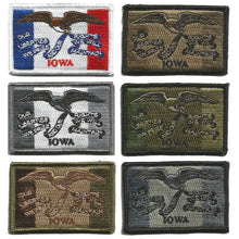 BuckUp Tactical Morale Patch Hook Iowa Des Moines State Patches 3x2""