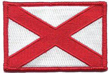 BuckUp Tactical Morale Hook Patch Alabama Montgomery State Patch Velcro