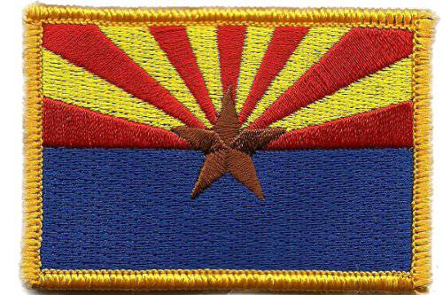BuckUp Tactical Morale Patch Hook Arizona Phoenix State Patches 3x2