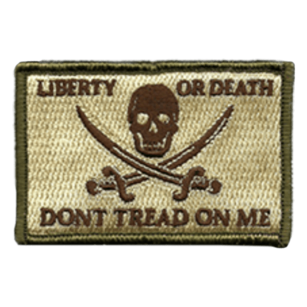 BuckUp Tactical Morale Patch Hook Calico Jack LOD DTOM Patches 3x2