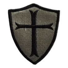BuckUp Tactical Morale Patch Hook Crusader Sheild Patches 3""