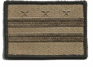 BuckUp Tactical Morale Patch Hook District of Columbia State Patches 3x2""