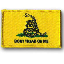 BuckUp Tactical Morale Patch Hook Gadsden DTOM Don't Tread On Me Patches 3x2""