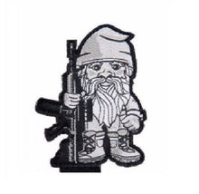 "BuckUp Tactical Morale Patch Hook Gnome 2.5"" Cut-Out Sized Patches"