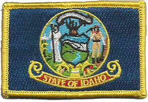 BuckUp Tactical Morale Patch Hook Idaho Boise State Patches 3x2""
