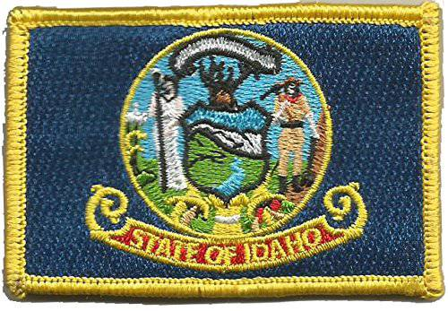 BuckUp Tactical Morale Patch Hook Idaho Boise State Patches 3x2