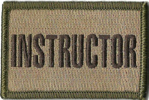 BuckUp Tactical Morale Patch Hook Instructor Patches 3x2