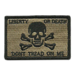 BuckUp Tactical Morale Patch Hook Calico Jack LOD DTOM Jolly Patches 3x2""