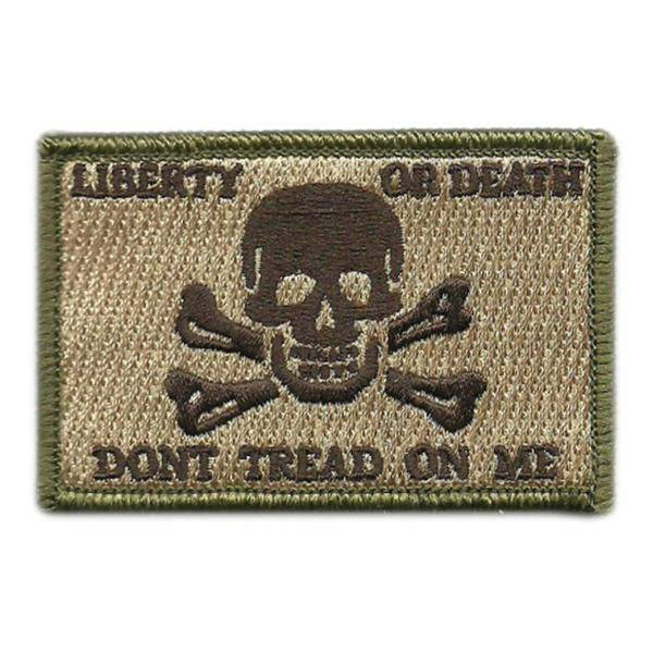 BuckUp Tactical Morale Patch Hook Calico Jack LOD DTOM Jolly Patches 3x2