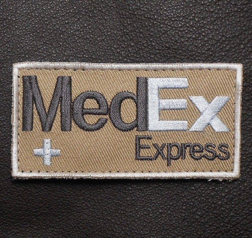BuckUp Tactical Morale Patch Hook MedEx Express Patches 2.75