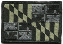 BuckUp Tactical Morale Patch Hook Maryland Annapolis State Patches 3x2""