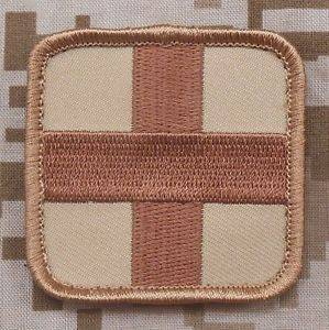 BuckUp Tactical Morale Patch Hook Medic Cross EMT Patches 2