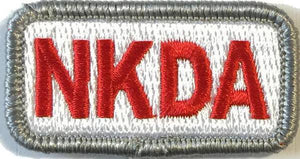 BuckUp Tactical Morale Patch Hook NKDA Allergy Patches 2x1""