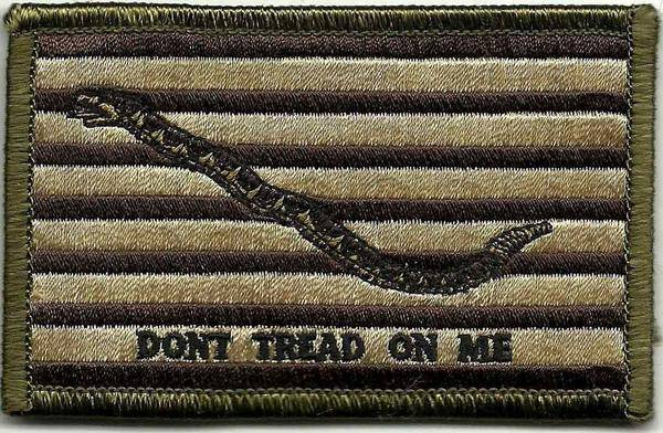 BuckUp Tactical Morale Patch Hook 1ST NAVY JACK SHOULDER PATCH Patches 3x2