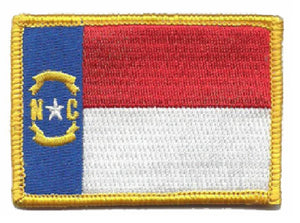 BuckUp Tactical Morale Patch Hook North Carolina Raleigh State Patches 3x2""