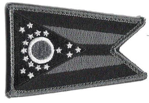 BuckUp Tactical Morale Patch Hook Ohio Columbus State Patches 3x2""