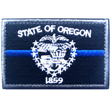 BuckUp Tactical Morale Patch Hook Oregon Salem State Patches 3x2""