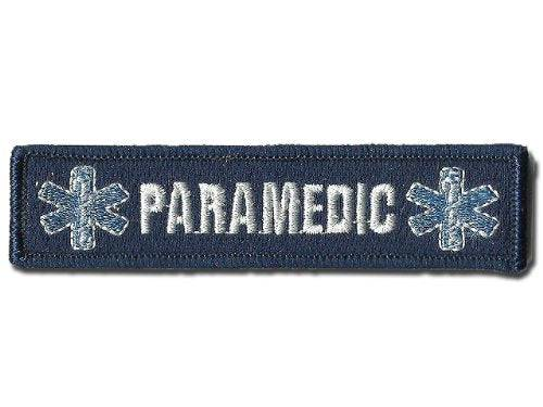 BuckUp Tactical Morale Patch Hook Paramedic EMT Patches 3x1