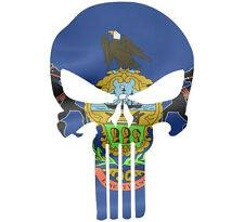 Punisher Skull Pennsylvania Flag Window Decal Sticker Graphic - Multiple Sizes